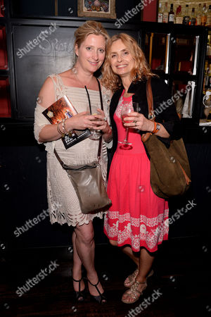 'The Importance of Being Earnest' Press Night Afterparty at L'escargot Greek Street Susannah Harker and Maryam D'abo