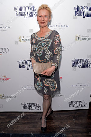 'The Importance of Being Earnest' Press Night Afterparty at L'escargot Greek Street Christine Kavanagh