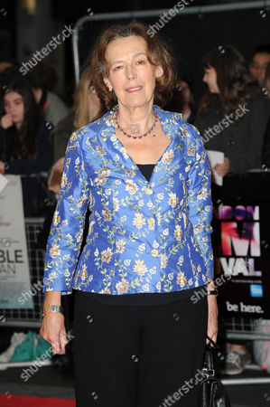 'The Invisible Woman' European Premiere at the Odeon Westend During the Bfi London Film Festival 2013 Claire Tomalin