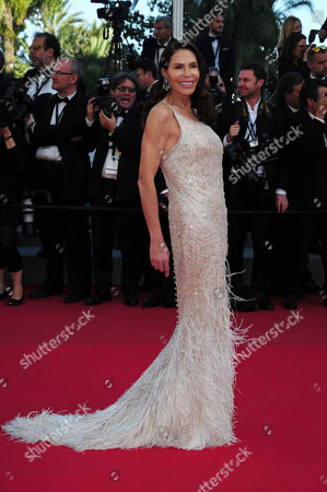 Stock Image of 'The Little Prince' Red Carpet at the Palais Des Festivals During the 68th Cannes Film Festival Mouna Ayoub