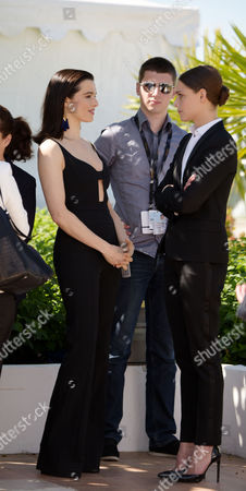 'The Lobster' Photocall at the Palais Des Festivals During the 68th Cannes Film Festival Rachel Weisz and Angeliki Papoulia