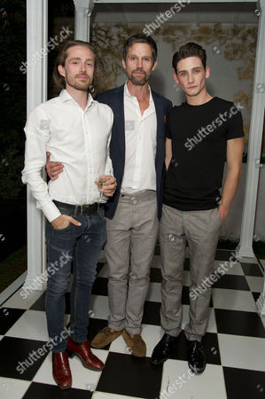the Alchemic Order Present 'The Picture of Dorian Gray' Staged in A House in Greenwich Samuel Orange (director and Lord Henry Wotton) with His Brother Jason Orange and River Hawkins (dorian Gray)