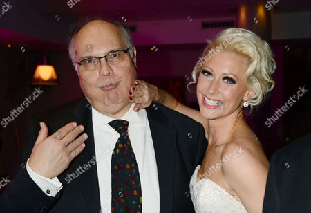 'The Tailor Made Man' Afterparty at the Haymarket Hotel Mike Mcshane and Faye Tozer