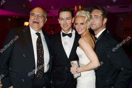 'The Tailor Made Man' Afterparty at the Haymarket Hotel Mike Mcshane Dylan Turner Faye Tozer and Bradley Clarkson