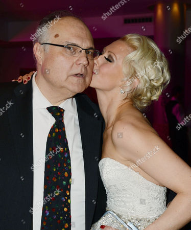 Stock Photo of 'The Tailor Made Man' Afterparty at the Haymarket Hotel Mike Mcshane and Faye Tozer