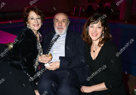 'The Tailor Made Man' Afterparty at the Haymarket Hotel Maureen Lipman with Her Partner Guido Castro and Her Daughter Amy Rosenthal