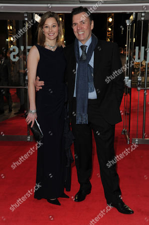 'The Wolf of Wall Street' Premiere at the Odeon Leicester Square Duncan Bannatyne with His Girlfriend Julia Kendell