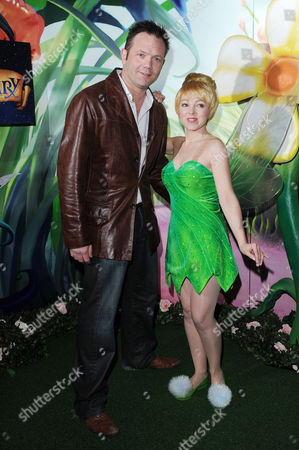 Stock Image of 'Tinker Bell and the Pirate Fairy' Gala Screening at the Cineworld Haymarket Jamie Rickers