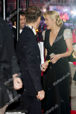 'Titanic 3d' Premiere at the Royal Albert Hall Kate Winslet with Her Boyfriend Ned Rocknroll