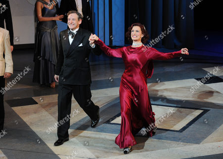 'Top Hat' First Night at the Aldwych Theatre and Afterparty at the Waldorf Hotel Curtain Call - Martin Ball