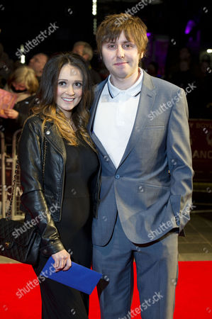 'Trance' Uk Premiere at the Odeon Westend James Buckley with His Wife Clair Meek