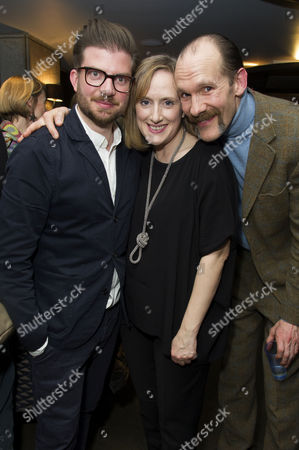 'Urinetown' Press Night at St James Theatre Victoria Jamie Lloyd Jenna Russell and Simon Paisley Day