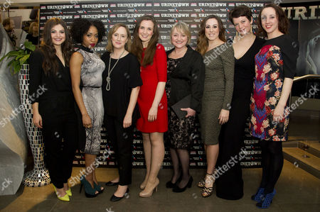 'Urinetown' Press Night at St James Theatre Victoria Katie Bernstein Karis Jack Jenna Russell Rosanna Hyland Julie Jupp Jo Napthine