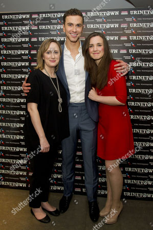 'Urinetown' Press Night at St James Theatre Victoria Jenna Russell Richard Fleeshman and Rosanna Hyland