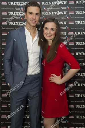 'Urinetown' Press Night at St James Theatre Victoria Richard Fleeshman and Rosanna Hyland