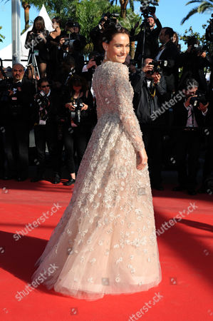 'Venus in Fur' Red Carpet at the Palais Des Festivals During the 66th Cannes Film Festival Saadet Aksoy