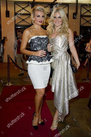 'Wag the Musical' Press Night at the Charing Cross Theatre Angela Russell and Pippa Fulton