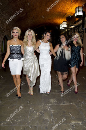 'Wag the Musical' Press Night at the Charing Cross Theatre Angela Russell Pippa Fulton Lizzie Cundy Alyssa Kyria with Lizzy Connolly