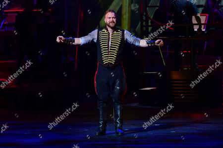 'War of the Worlds' Press Night Curtain Call at the Dominion Theatre Daniel Bedingfield