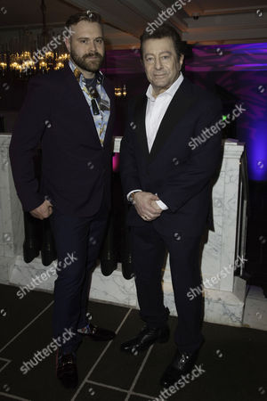 Stock Image of 'War of the Worlds' Press Night Afterparty at the Rosewood Hotel Daniel Bedingfield and Jeff Wayne