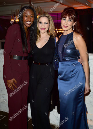 'War of the Worlds' Press Night Afterparty at the Rosewood Hotel Beverley Knight Heidi Range and Madalena Alberto