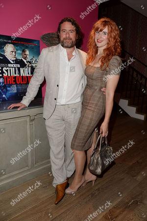 'We Still Kill the Old Way' Screening at the Ham Yard Hotel Sacha Bennett and Miarina Fiorato