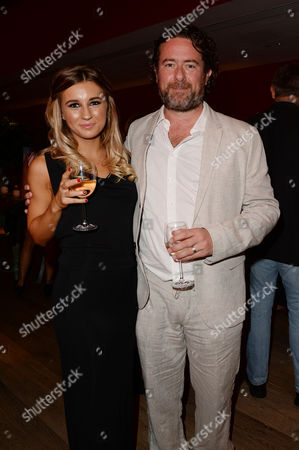 'We Still Kill the Old Way' Screening at the Ham Yard Hotel Dani Dyer and Director Sacha Bennett