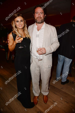 Stock Picture of 'We Still Kill the Old Way' Screening at the Ham Yard Hotel Dani Dyer and Director Sacha Bennett