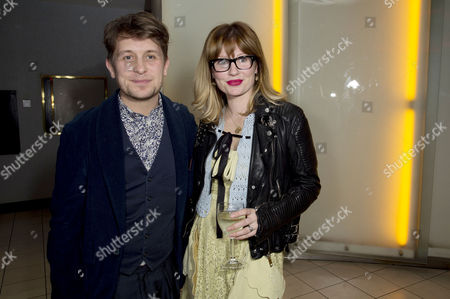 Stock Image of 'Welcome to the Punch' Screening at the Vue Leicester Square Mark Owen with His Wife Emma Ferguson