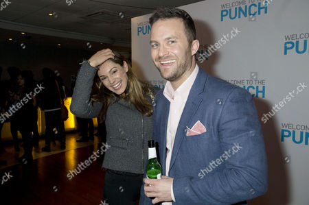 'Welcome to the Punch' Screening at the Vue Leicester Square Kelly Brook and Director Eran Creevy