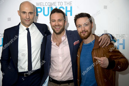 'Welcome to the Punch' Screening at the Vue Leicester Square Mark Strong Director Eran Creevy and James Mcavoy