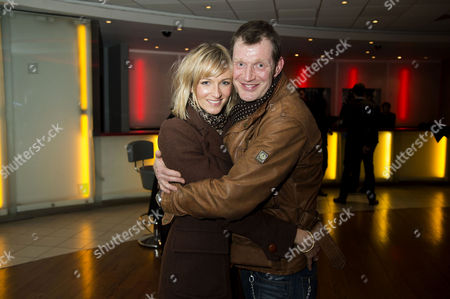'Welcome to the Punch' Screening at the Vue Leicester Square Jason Flemyng with His Wife Elly Fairman