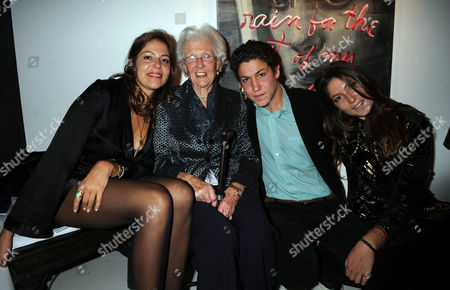 'What Every Young Sissy Should Know' Private View at Scream Gallery Burton Street London Lola Schnabel Grandmother Anne De Beaurang Stella Schnabel & Vito Schnabel
