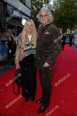 'What We Did On Our Holiday' Premiere at the Odeon Westend Billy Connolly with His Wife Pamela Stephenson