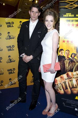 'Wild Bill' Premiere at Cineworld Haymarket Morgan Watkins and Charlotte Spencer