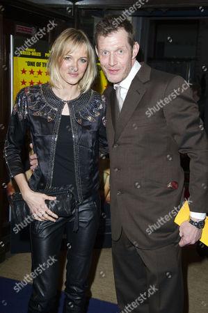 'Wild Bill' Premiere at Cineworld Haymarket Jason Flemyng with His Wife Elly Fairman