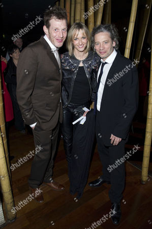 'Wild Bill' Premiere Afterparty at Chinawhite Winsley Street Jason Flemyng with His Wife Elly Fairman and Dexter Fletcher