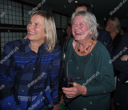 'Winter Games' Book Launch Party at the Draft House Tower Bridge Road Phillipa Walker and Lynn Barber