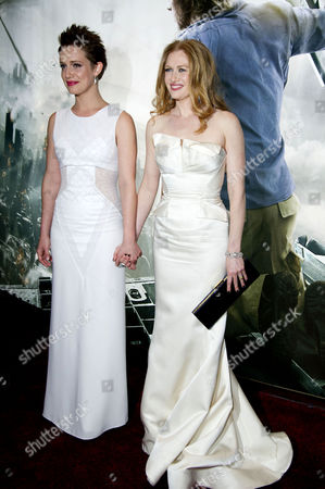 'World War Z' World Premiere Vip Arrivals at the Empire Leicester Square Daniella Kertesz and Mireille Enos
