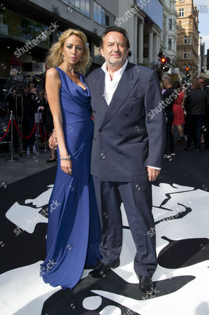 'World War Z' World Premiere Vip Arrivals at the Empire Leicester Square Ludi Boeken with His Daughter Julia Levy-boeken