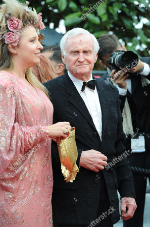 Stock Photo of 'You Ain't Seen Nothing Yet' Red Carpetat Palais Des Festivals During the 65th Cannes Film Festival Katrine Boorman with Her Father John Boorman