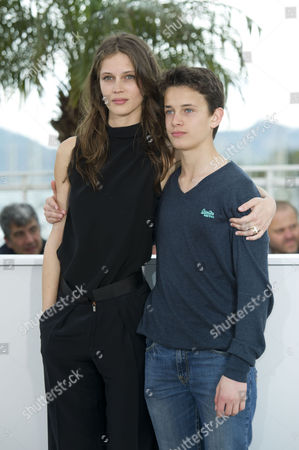 'Young and Beautiful' Photocall at the Palais Des Festivals During the 66th Cannes Film Festival Marine Vacth and Fantin Ravat