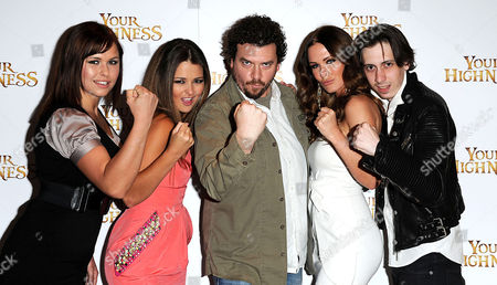 'Your Highness' Screening at the Vue Leicester Square Eva Wyrwal Paige Tyler Danny Mcbride Amii Grove and Rasmus Hardiker