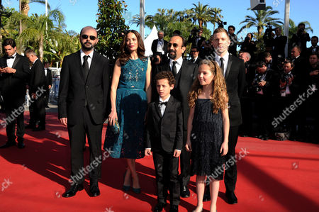 'Zulu' Red Carpet and Closing Night Gala at the Palais Des Festivals During the 66th Cannes Film Festival Ali Mosaffa Berenice Bejo Asghar Farhadi Elyes Aguis Jeanne Jestin and Alexandre Mallet-guy