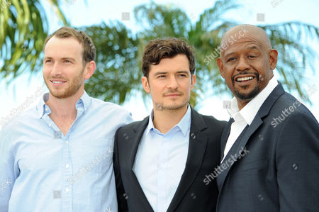 'Zulu' Photocall at the Palais Des Festivals During the 66th Cannes Film Festival Conrad Kemp Orlando Bloom and Forest Whitaker