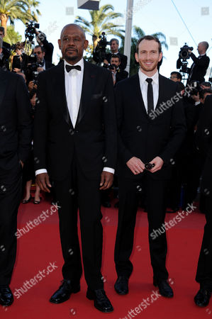 'Zulu' Red Carpet and Closing Night Gala at the Palais Des Festivals During the 66th Cannes Film Festival Forest Whitaker and Conrad Kemp