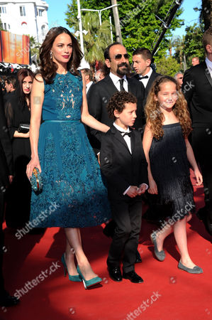 Stock Photo of 'Zulu' Red Carpet and Closing Night Gala at the Palais Des Festivals During the 66th Cannes Film Festival Ali Mosaffa Berenice Bejo Elyes Aguis and Jeanne Jestin