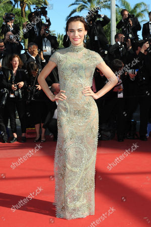 Stock Image of 'Zulu' Red Carpet and Closing Night Gala at the Palais Des Festivals During the 66th Cannes Film Festival Saadet Aksoy