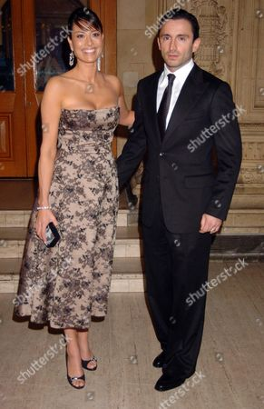 10th National Television Awards at the Royal Albert Hall Melanie Sykes with Her Husband Daniel Caltagirone