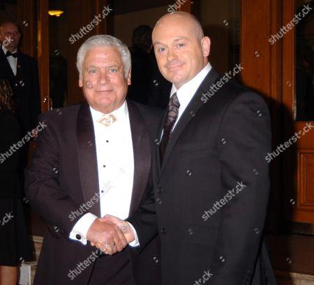 10th National Television Awards at the Royal Albert Hall Tom Oliver and Ross Kemp